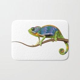 The Chameleon (Colored) Bath Mat