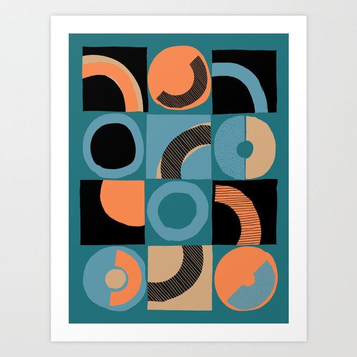 pattern 044 Art Print