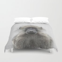 Baboon - Colorful Duvet Cover