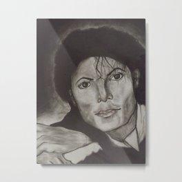 Michael Jackson's Early Days Metal Print