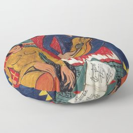 Henri Matisse - Music - Exhibition Poster Floor Pillow