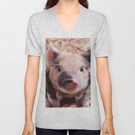 Sweet piglet Unisex V-Neck