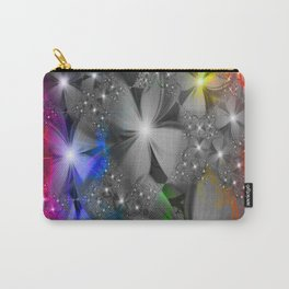 Graphic floral Carry-All Pouch