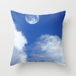 BLUE SKYS OF CALIFORNIA AND THE REST OF THE WORLD Throw Pillow