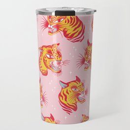 Tigerpop pattern Travel Mug