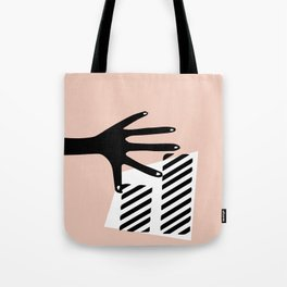 Minimalist Hand Collection: Taped Tote Bag