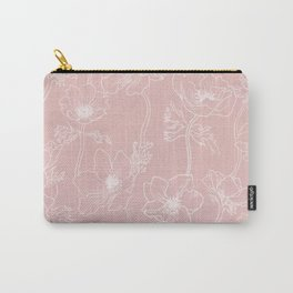 anemone flowers (pattern) Carry-All Pouch