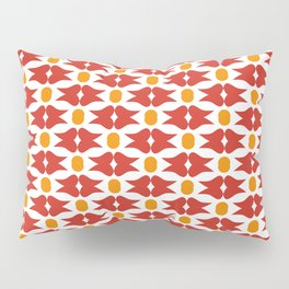 Red Tooth Pillow Sham