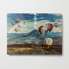 Ethereal Scape Metal Print
