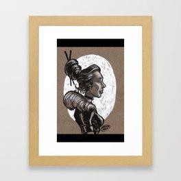 Victorian Profile_2 Framed Art Print