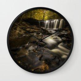 Just autumn Wall Clock