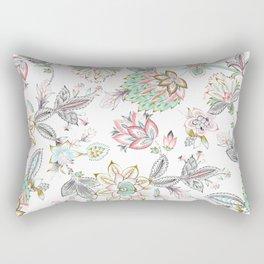 Bohemian tribal floral Rectangular Pillow