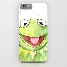 Frog Kermit Portrait iPhone 6s Slim Case