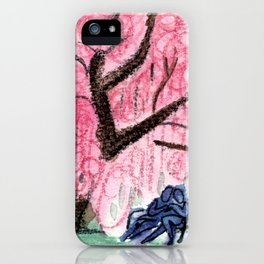 Blossoming Romance iPhone Case