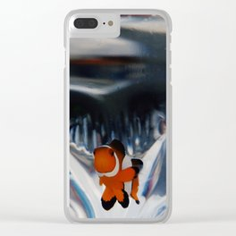 The Little Sea 04: The Clownfish Clear iPhone Case