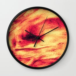 Fire Explosion Wall Clock