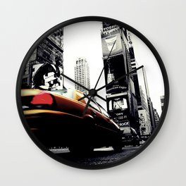 Time Square Wall Clock