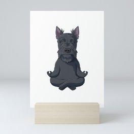 Scottish Terrier Dog Mini Art Print