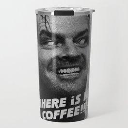 Johnny needs coffee Travel Mug