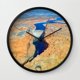 Glen Canyon Dam Wall Clock
