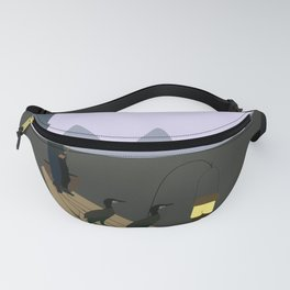 Fishing with Cormorants Fanny Pack
