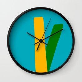 Mid Century Modern 9 Wall Clock