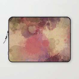 Modern Contemporary Ultra Violet Glow Abstract Laptop Sleeve