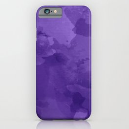 amethyst watercolor abstract iPhone Case