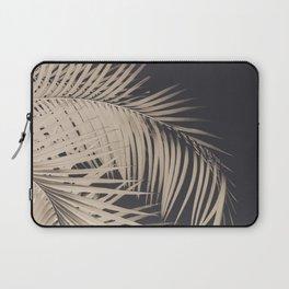 Palm Leaves Sepia Vibes #3 #tropical #decor #art #society6 Laptop Sleeve