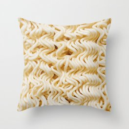Forever Ramen Throw Pillow