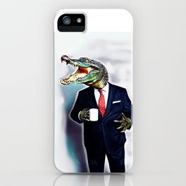 Business Croc iPhone Case