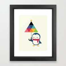 Everyday Is Holiday Framed Art Print