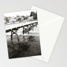 Walk on the Pier in Sechelt Birtish Columbia Stationery Cards