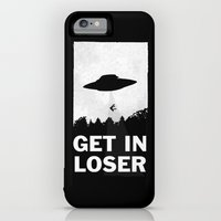 iPhone 6 Power Case featuring Get In Loser by moop