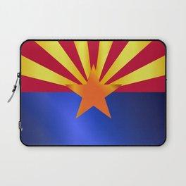 Arizona State Flag Gloss Laptop Sleeve