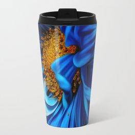 blue flora #society6 #decor #buyart Travel Mug
