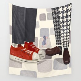 """""""Ratatouille Shoes"""" by Meghann O'Hara Wall Tapestry"""