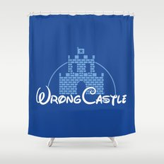 Wrong Castle Shower Curtain