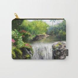 Hawaiian  Garden Carry-All Pouch