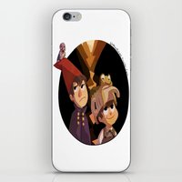 over the garden wall iPhone & iPod Skins featuring Over the Garden Wall by stubbornpotato