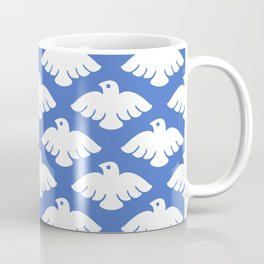 Flying Dove Pattern Coffee Mug