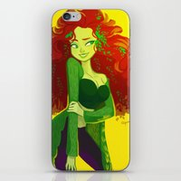 poison ivy iPhone & iPod Skins featuring poison ivy by squeegool