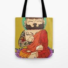 Gautama Block Tote Bag