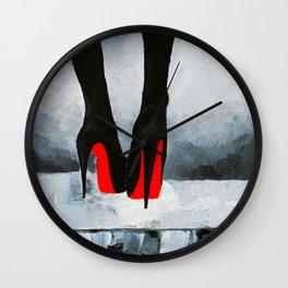 Louboutins Wall Clock