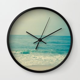 Blue H20 Wall Clock