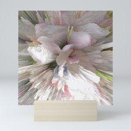 Abstract apple tree Mini Art Print