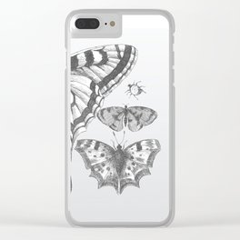 A Lepidopterist delight Clear iPhone Case
