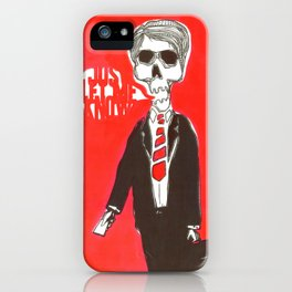 Just let me know iPhone Case