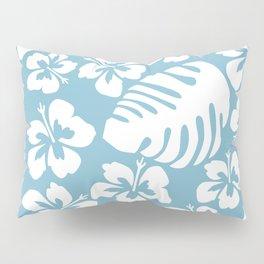 Powder Blue Tropical Breeze Pillow Sham