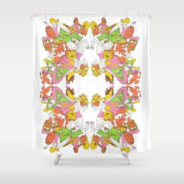 Charge Shower Curtain